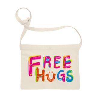 フリーハグ/FREE HUGS サコッシュ