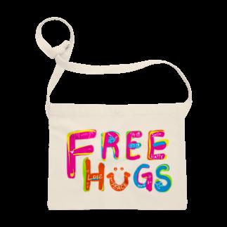 もやしくんのフリーハグ/FREE HUGS Sacoches