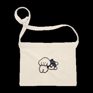 teraokaの犬ちゃんとぬいぐるみサコッシュ