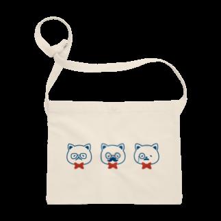 チョッちゃんのネコとヒゲとメガネ Sacoches