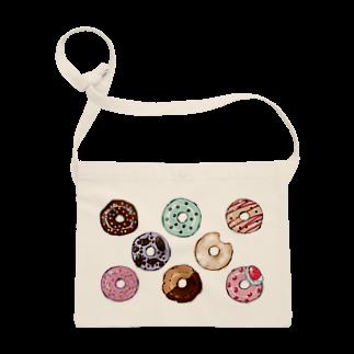 溝呂木一美のお店のドーナツ Sacoches