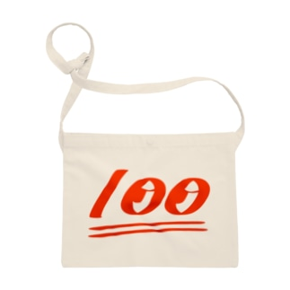 100ten red Sacoches