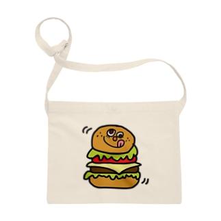 ハンバーガーさん サコッシュ