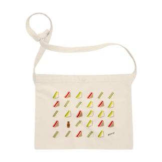 三角サンドいっぱい サコッシュ