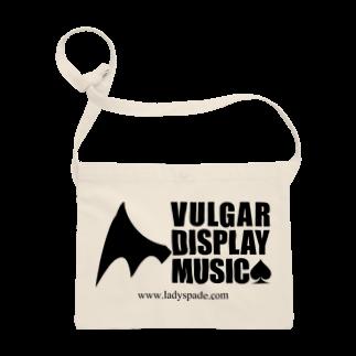 スペィドのおみせsuzuri支店のVulgar Display Music サコッシュ
