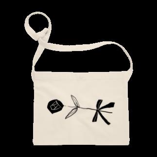 明季 aki_ishibashiの花をはこぶひと サコッシュ