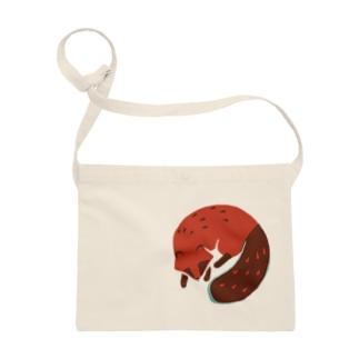 red tanuki Sacoches
