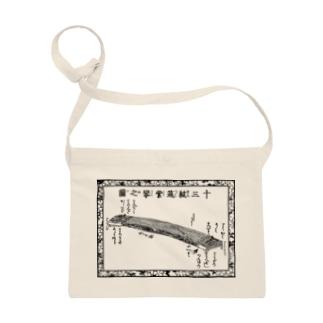 十三絃琴(箏)の図 Sacoches