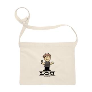 Lou,We love you サコッシュ
