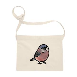 Chubby Bird アキクサインコ Sacoches