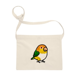 Chubby Bird シロハラインコ Sacoches