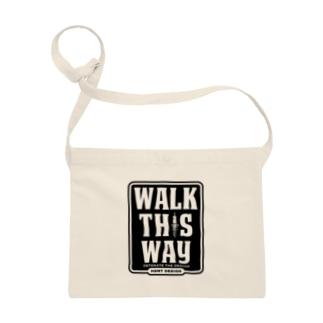 WALK THIS WAY サコッシュ