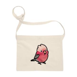 Chubby Bird モモイロインコ Sacoches