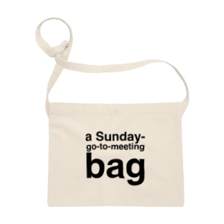 a Sunday-go-to-meeting bag Sacoches