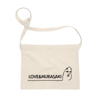 LOVE&MURASAKI サコッシュ