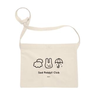 【IENITY】Sad Rabbit Club #Black サコッシュ