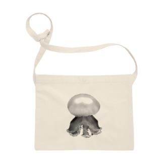 クラゲ ルテウムジェリー(モノクロ) Sacoches