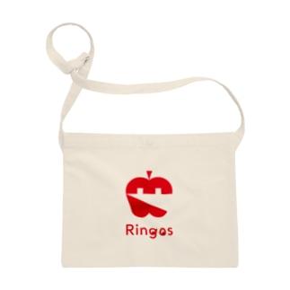 Ringos(リンゴズ) ・アイコン サコッシュ