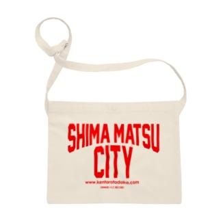 田高健太郎 SHIMAMATSU CITY RED サコッシュ