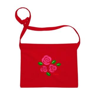 ピンクの薔薇 花言葉は感銘・上品・おしとやか Sacoches