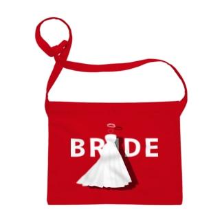 ペア(BRIDE)ドレス_白_FW Sacoche