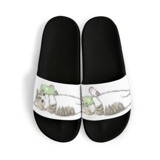 寝落ち Sandals