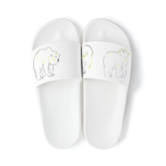 3びきのpolar bear Sandal