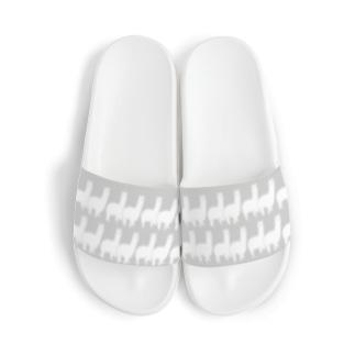 おさんぽアルパカ グレー Sandal