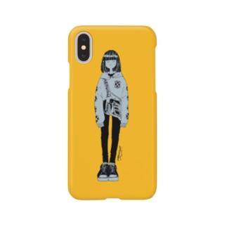 meruの大人見ガール Smartphone cases