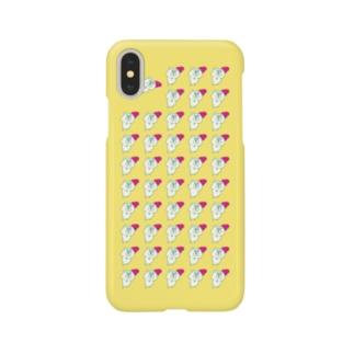 ハーンがいっぱいケース X きいろ Smartphone cases