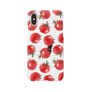 ピトくんとミニトマト Smartphone cases
