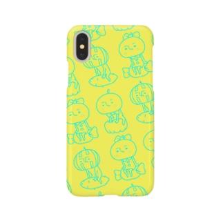 梨男&梨子&西くんコラボスマホケース Smartphone cases