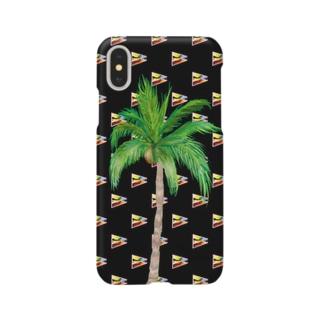 20183月ゲリラコレクション「miracle Palm tree」 Smartphone cases