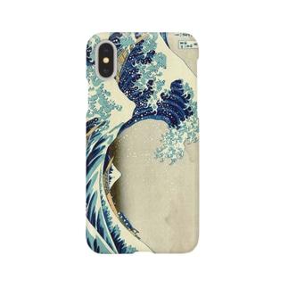 北斎 Smartphone cases