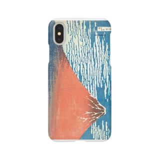 北斎 冨嶽三十六景_凱風快晴- Smartphone cases