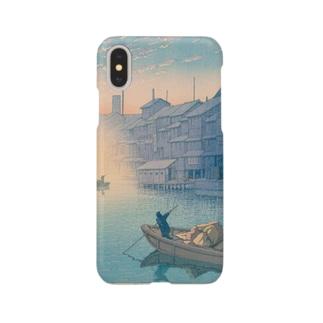 道頓堀の朝 Smartphone cases