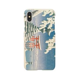 厳島雪 Smartphone cases