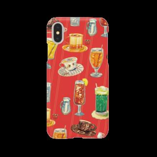 さぶの喫茶店の飲み物 Smartphone cases