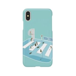 ペンギンブレインストーミング Smartphone cases