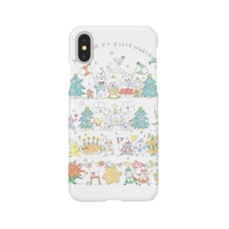 [ちびねこベビーパレードB] Smartphone cases