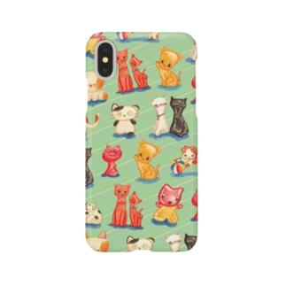 ねこの玩具 Smartphone cases