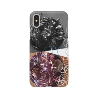 花と月 Smartphone cases