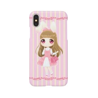 白うさぎちゃん Smartphone cases