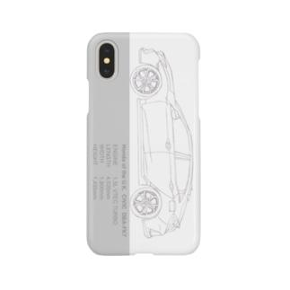 シビックイラストケース Smartphone cases