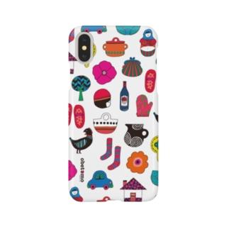 アカズキン Smartphone cases