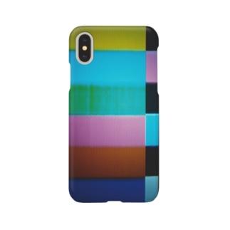 スマートフォンケース【カラーバー】 Smartphone cases