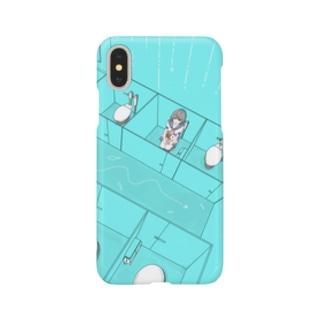 トイレットヒロイン Smartphone cases