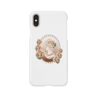 気高い貴婦人 Smartphone cases