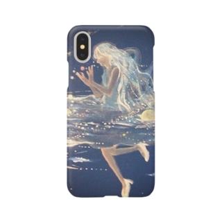 宇宙魔女の遊泳 Smartphone cases