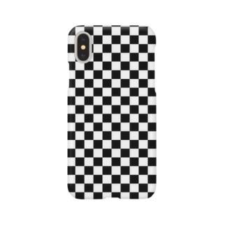 checker flag* スマートフォンケース